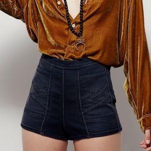 Free People Radar Love High Waist Shorts